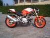Ducati8 Monster Orange