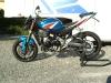 Suzuki Gixxer K7 blu Naked